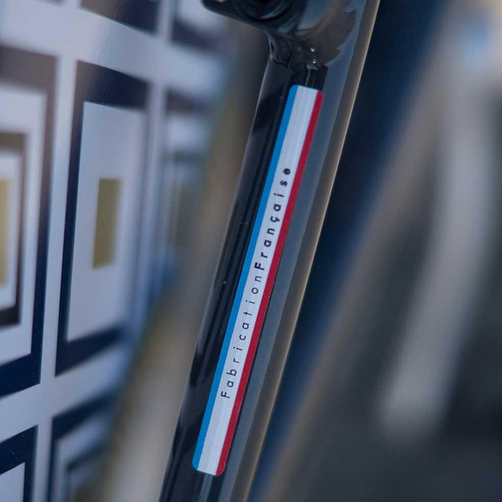 Le vélo Cruiser Coaster est de fabrication 100% française. Made in France, sa robustesse, son design et son confort sont d'une très grande qualité
