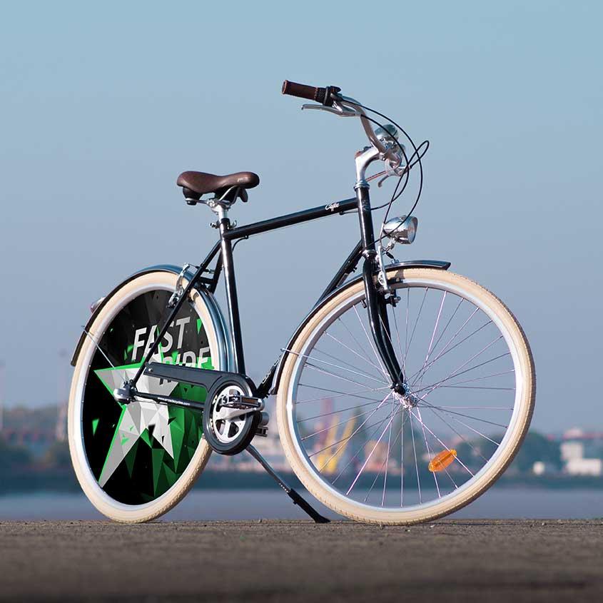 Avec sa ligne épurée et son aspect très confortable, ce vélo de ville Coffee pour homme est idéal pour vos trajets urbains. Vélo de collection Fast Ride pour vous démarquer des autres cyclistes
