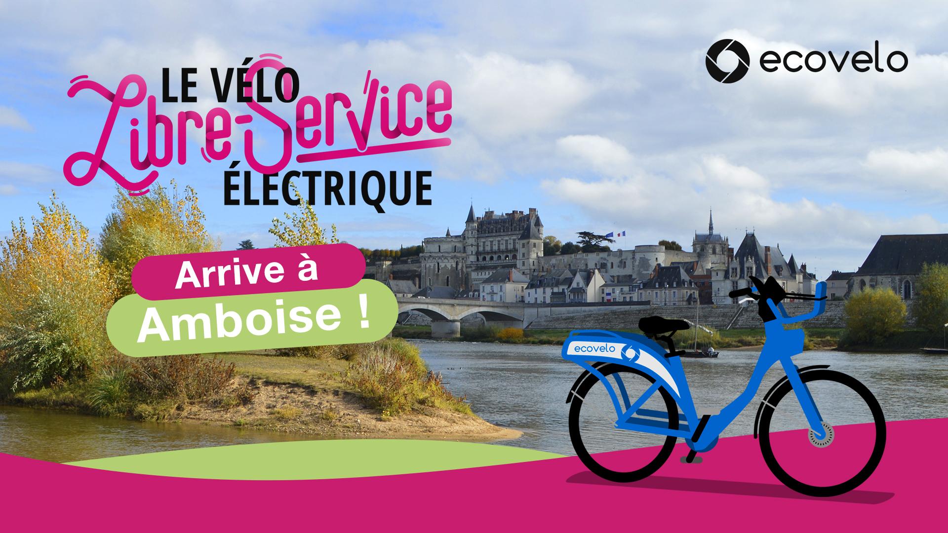 Le vélo libre-service électrique arrive à Amboise
