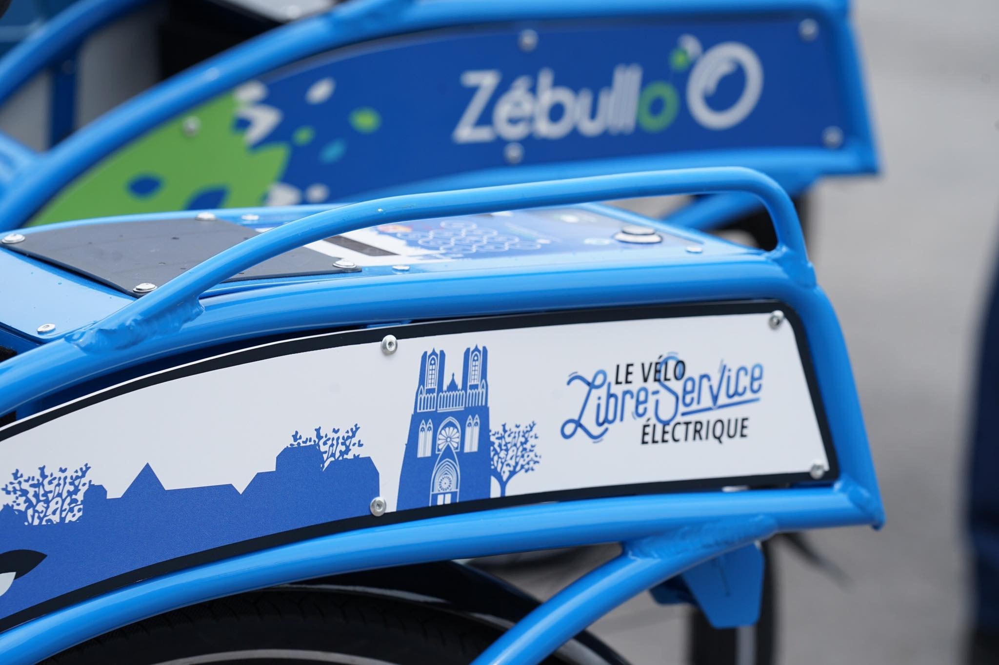 flasque vélo libre-service