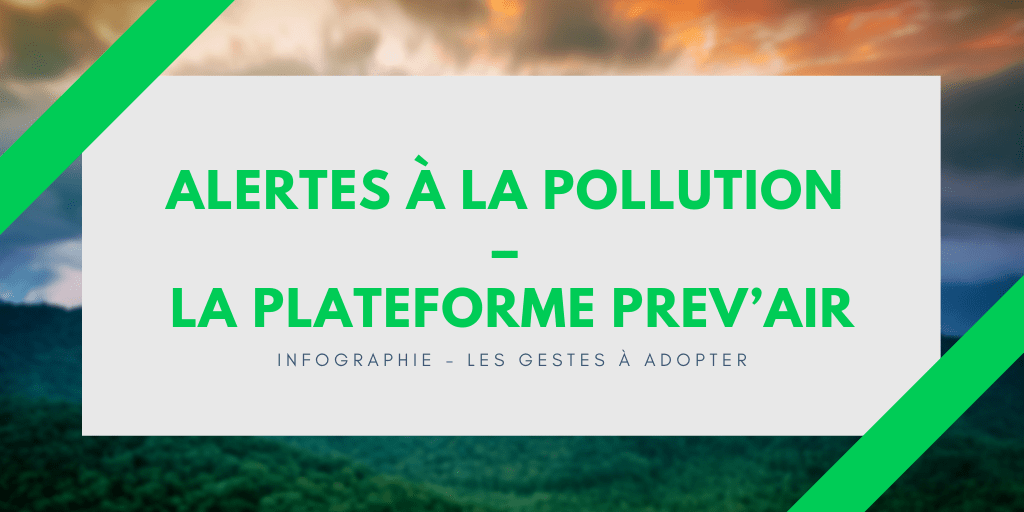 alertes à la pollution