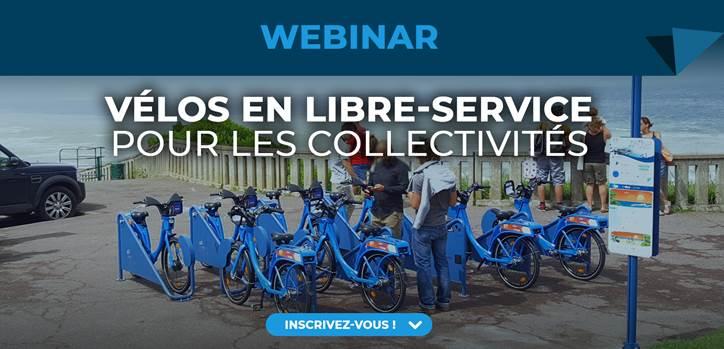 Webinar vélos en libre-service