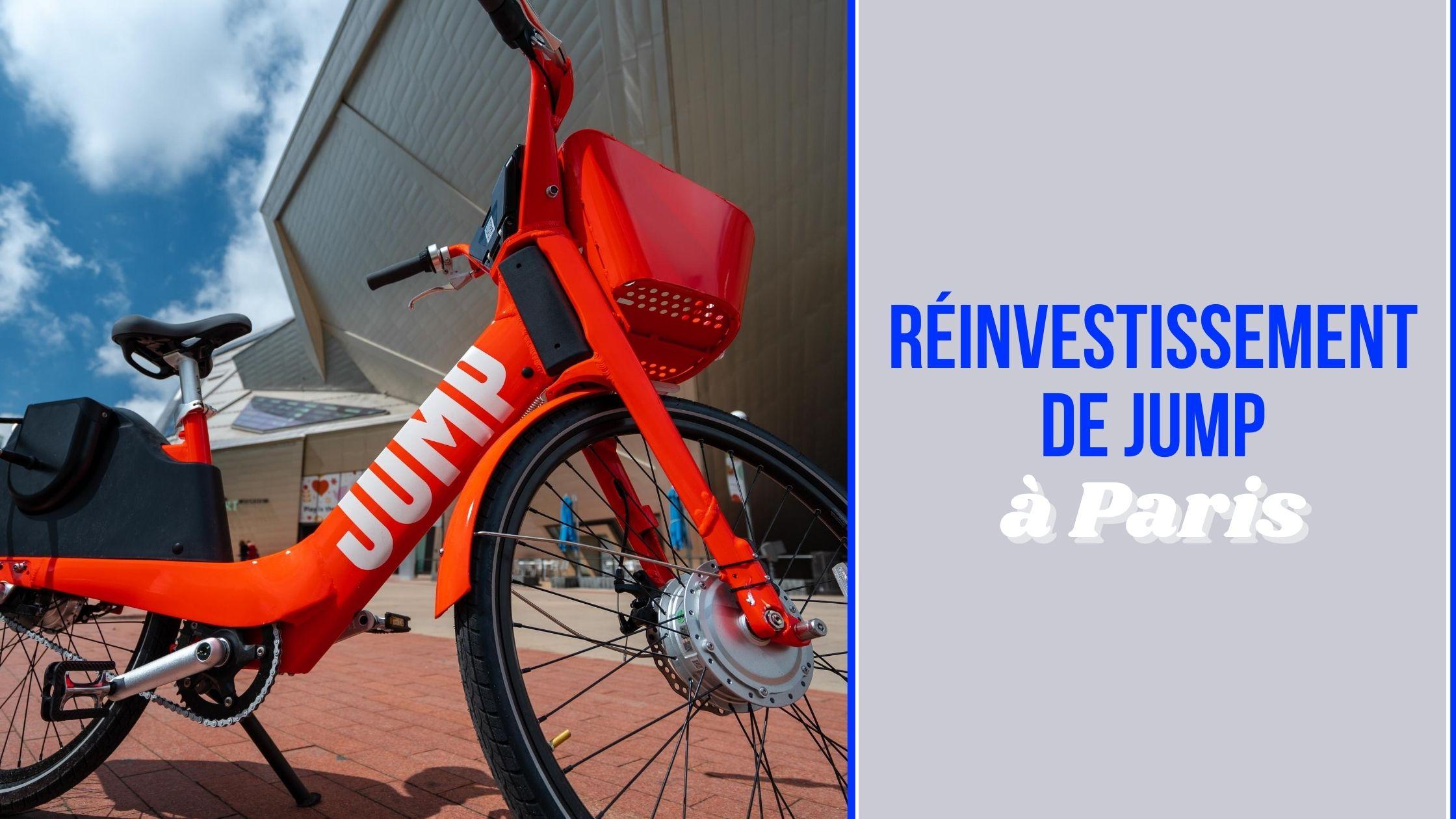Les vélos électriques JUMP roulent à nouveau dans la capitale