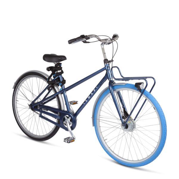 velo-swapfiets-roue-bleue
