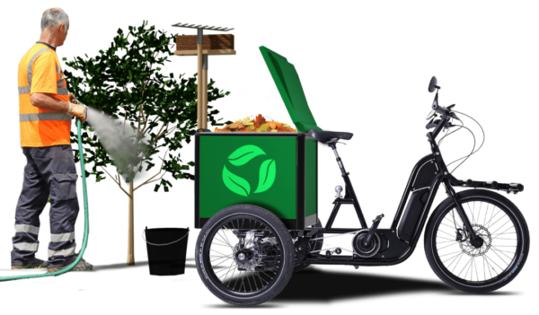 triporteur vélo cargo vuf jardinier