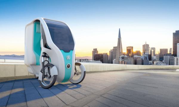Le vélo cargo à assistance électrique solaire de Wello