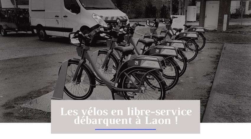 service de vélo en libre-service ecovelo débarque à Laon