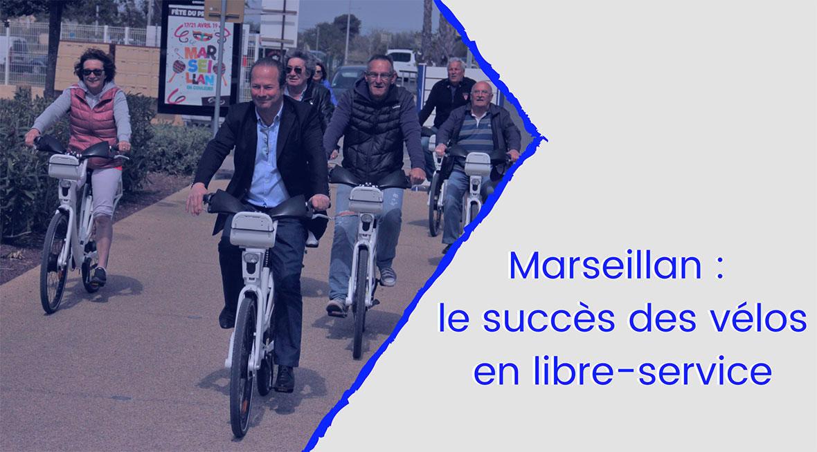 Marseillan : le succès des vélos en libre-service