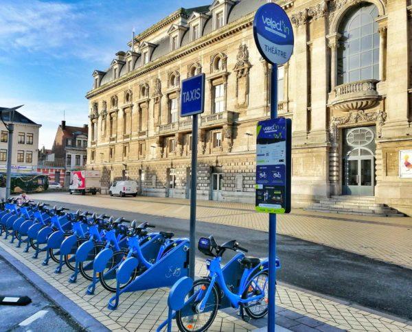 service de vélo en libre-service à Calais